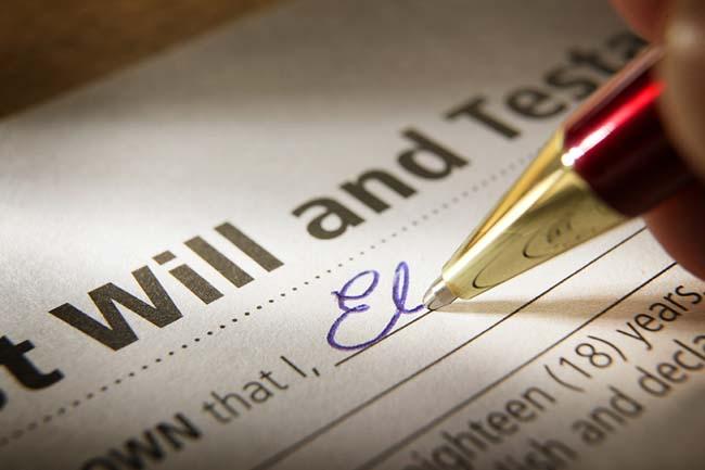 Legal Services - Probate Matters